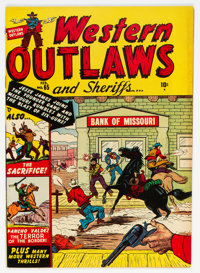 """Western Outlaws and Sheriffs #65 Davis Crippen (""""D"""" Copy) Pedigree (Marvel, 1951) Condition: FN/VF"""