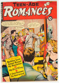 Golden Age (1938-1955):Romance, Teen-Age Romances #10 (St. John, 1950) Condition: VG+....