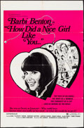 """Movie Posters:Sexploitation, How did a Nice Girl Like You...? & Other Lot (Saxton, 1970).Folded, Fine+. Trimmed One Sheet & One Sheet (approx. 27"""" X41""""... (Total: 2 Items)"""