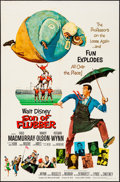 """Movie Posters:Comedy, Son of Flubber & Other Lot (Buena Vista, 1963). Folded, Very Fine. One Sheets (2) (27"""" X 41""""). Comedy.. ... (Total: 2 Items)"""
