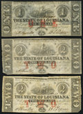 Obsoletes By State:Louisiana, Baton Rouge, LA- State of Louisiana $1; $2 (2) Feb. 24, 1862.. ... (Total: 3 notes)