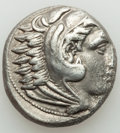 Ancients:Greek, Ancients: MACEDONIAN KINGDOM. Alexander III the Great (336-323 BC). AR tetradrachm (23mm, 16.89 gm, 3h). VF....