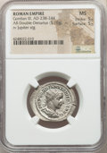 Ancients:Roman Imperial, Ancients: Gordian III (AD 238-244). AR antoninianus (27mm, 5.16 gm,6h). NGC MS 5/5 - 5/5....