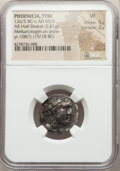 Ancients: PHOENICIA. Tyre. Ca. 126/5 BC-AD 65/6. AR half-shekel (19mm, 5.81 gm, 2h). NGC VF 5/5 - 2/5