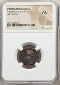 Ancients: PARTHIAN KINGDOM. Vonones I (AD 8-12). AR drachm (19mm, 11h). NGC AU