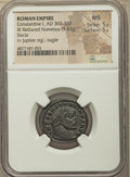 Ancients: Constantine I the Great (AD 307-337). BI follis or nummus (23mm, 3.52 gm, 5h). NGC MS 5/5 - 5/5