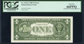 Error Notes:Miscellaneous Errors, Engraving Error Fr. 1913-F $1 1985 Federal Reserve Note with Back Plate 129 at Left. PCGS Gem New 66PPQ.. ...