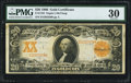 Large Size:Gold Certificates, Fr. 1183 $20 1906 Gold Certificate PMG Very Fine 30.. ...