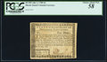 Colonial Notes:Rhode Island, Rhode Island July 2, 1780 $4 PCGS Choice About New 58.. ...