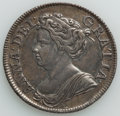 Great Britain: Anne Shilling 1711 XF (Cleaned)