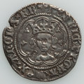 Great Britain: Henry VI (1422-1461) 1/2 Groat ND (1422-1427) About XF (edge cut)
