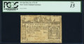 Colonial Notes:New York, New York February 16, 1771 £2 PCGS Fine 15.. ...
