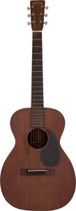 Musical Instruments:Acoustic Guitars, Johnny Cash's 1934 Martin 0-17 Mahogany Acoustic Guitar, Serial # 56236 Owned and Played by Graham Nash.. ...