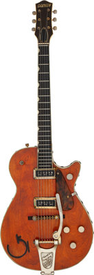 Graham Nash's 1955 Gretsch 6121 Semi-Hollow body Electric Guitar, Serial #16499