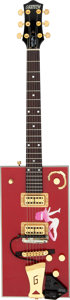 Musical Instruments:Electric Guitars, Bo Diddley's 1999 Gretsch 6138 Signature Model Firebird Red Semi-Hollow Body Electric Guitar, Serial # 999138-54 Owned and Pla...