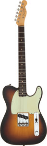 Musical Instruments:Electric Guitars, Graham Nash's 1960 Fender Esquire Custom Sunburst Solid Body Electric Guitar, Serial # 51465.. ...
