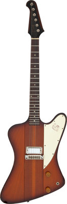 Stephen Stills 1964 Gibson Firebird Sunburst Solid Body Electric Guitar, Serial #191976