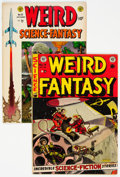 Golden Age (1938-1955):Science Fiction, Weird Fantasy #14/Weird Science-Fantasy #25 Group (EC, 1952-54).... (Total: 2 Comic Books)