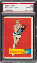 Basketball Cards:Singles (Pre-1970), 1957 Topps Art Spoelstra #52 PSA NM-MT 8 - Two Higher. ...