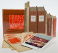 Works on Paper, Frank Lloyd Wright (American, 1867-1959). W. Kelly Oliver's Taliesin Archive, 1964-1975. Mixed media, including 3 FLW si... (Total: 12 Items)
