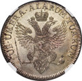 German States:Jever, German States: Jever - Russian Administration. Friederike AugusteSophie Taler 1798 MS61 NGC,...