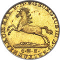 German States, German States: Hannover. George III of England gold 2-1/2 Taler1814-CHH MS63 NGC, ...