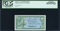 Military Payment Certificates:Series 611, Series 611 10¢ Replacement PCGS Gem New 65PPQ.. ...