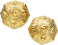 Estate Jewelry:Earrings, Gold Earrings, Nicholas Varney. ...