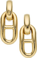 Estate Jewelry:Earrings, Gold Earrings, Bvlgari The 18k gold earrings w...