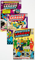 Silver Age (1956-1969):Superhero, Justice League of America Group of 6 (DC, 1962-67).... (Total: 6 Comic Books)