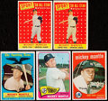 Baseball Cards:Lots, 1958-65 Topps Mickey Mantle Lot of 5....