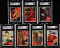 """Non-Sport Cards:Sets, 1956 Topps """"Elvis"""" Complete Set (66) With Wrapper. ..."""