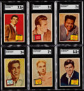 """Non-Sport Cards:Sets, 1957 Topps """"Hit Stars"""" Complete Set (88) With Wrapper. ..."""