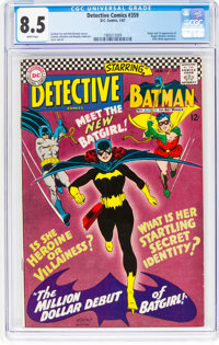 Detective Comics #359 (DC, 1967) CGC VF+ 8.5 White pages
