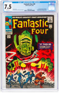 Silver Age (1956-1969):Superhero, Fantastic Four #49 (Marvel, 1966) CGC VF- 7.5 White pages....