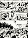 Original Comic Art:Panel Pages, François Craenhals Pom & Teddy Tome 6 « Zone interdite »Planche 40 (Le Lombard, 1964)....