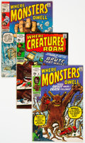 Bronze Age (1970-1979):Horror, Where Creatures Roam/Where Monsters Dwell Group of 20 (Marvel,1970-71) Condition: Average FN.... (Total: 20 )