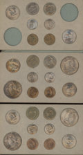 Mint Sets, 1947 1C-50C Mint Set Uncertified.... (Total: 28 coins)