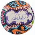 Autographs:Baseballs, Derek Jeter Single Signed Cope 2 Painted Baseball....