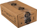 Football Cards:Boxes & Cases, 2004 Upper Deck Ultimate Collection Football 4-Box Sealed Case....