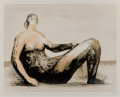 Prints & Multiples:Print, Henry Moore (1898-1986). Reclining Woman III, 1982. Lithograph in colors on Rives paper. 18-3/4 x 25-1/2 inches (47.6 x ...