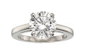 Estate Jewelry:Rings, Diamond, Platinum Ring, DeBeers. ...