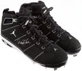 "Baseball Collectibles:Others, Derek Jeter ""The Captain 2000 WS MVP"" Signed Game Model Cleats...."