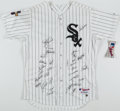 Autographs:Jerseys, 2005 Chicago White Sox - World Series Champs - Team Signed Jersey (31 Signatures)....