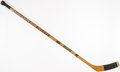 Hockey Collectibles:Equipment, 1972-73 Henri Richard Montreal Canadiens Game Used Hockey Stick....