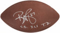 "Autographs:Footballs, Reggie Wayne ""S.B. XLI T.D."" Signed Football...."