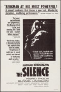 """Movie Posters:Foreign, The Silence (Janus Films, 1963). Folded, Very Fine. One Sheet (27"""" X 41""""). Foreign.. ..."""