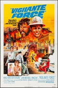 """Movie Posters:Action, Vigilante Force & Other Lot (United Artists, 1976). Folded, Very Fine-. One Sheets (2) (27"""" X 41"""") Style A. Action.. ... (Total: 2 Items)"""