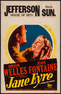 "Movie Posters:Romance, Jane Eyre (20th Century Fox, 1944). Fine+. Window Card (14"" X 22""). Romance.. ..."