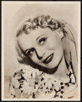 """Movie Posters:Miscellaneous, Marie Wilson (Paramount, 1940). Very Fine+. Autographed Portrait Photo in Original Envelope (8"""" X 10""""). Miscellaneous.. ... (Total: 2 Items)"""